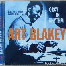 CDs de Música: ART BLAKEY – ORGY IN RHYTHM - VOLUME ONE CD AFRO-CUBAN JAZZ, HARD BOP. Lote 220279367