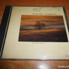 CDs de Música: NARADA SAMPLER 1 MICHAEL JONES GABRIEL LEE DAVID LANZ CD ALBUM 1985 USA CONTIENE 7 TEMAS. Lote 220281566