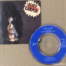 "CDs de Música: ALICE COOPER MINI CD 3"" POISON SINGLE 1989 BALLAD OF DWIGHT FRY COLD ETHYL RARO - PEDIDO MINIMO 6 EU. Lote 220291532"