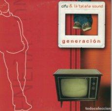 CDs de Música: CIFU Y LA CALAÑA SOUND - GENERACION (CDSINGLE CARTON PROMO, DISCOS DRO 2004). Lote 220350300