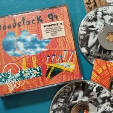 CDs de Música: WOODSTOCK 94 - 2CD'S (GREEN DAY-METALLICA-CRANBERIES-COLLECTIVE SOUL-BOB DYLAN.... Lote 269013169