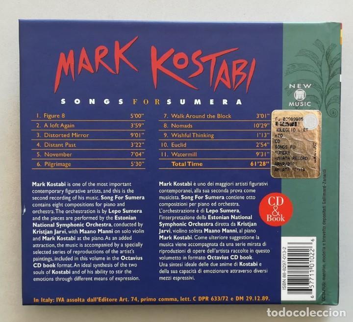 CDs de Música: Songs For Sumera de Mark Kostabi CD & Book - Foto 3 - 220370277