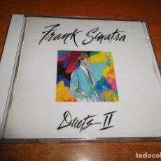 CDs de Música: FRANK SINATRA DUETS II CD ALBUM DEL AÑO 1994 DUOS STEVIE WONDER LUIS MIGUEL JON SECADA NEIL DIAMOND. Lote 220375440
