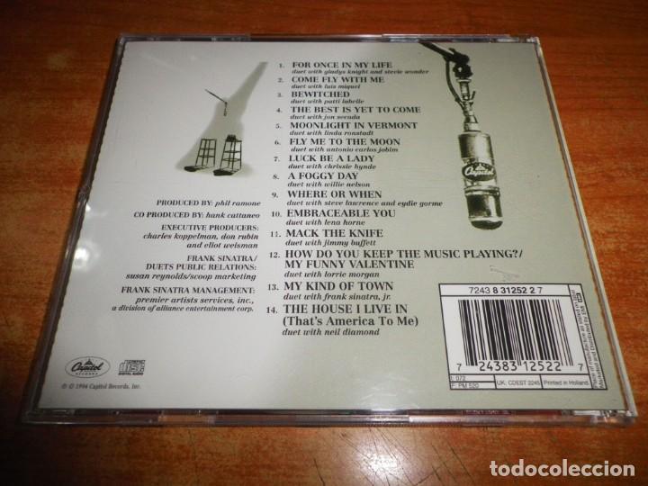 CDs de Música: FRANK SINATRA Duets II CD ALBUM DEL AÑO 1994 DUOS STEVIE WONDER LUIS MIGUEL JON SECADA NEIL DIAMOND - Foto 2 - 220375440