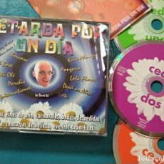 CDs de Música: PETARDA POR UN DÍA TRIPLE CD 2000 OLÉ OLÉ DANA INTERNATIONAL BACCARA FANGORIA PARCHIS TEMATICA GAY. Lote 220394990