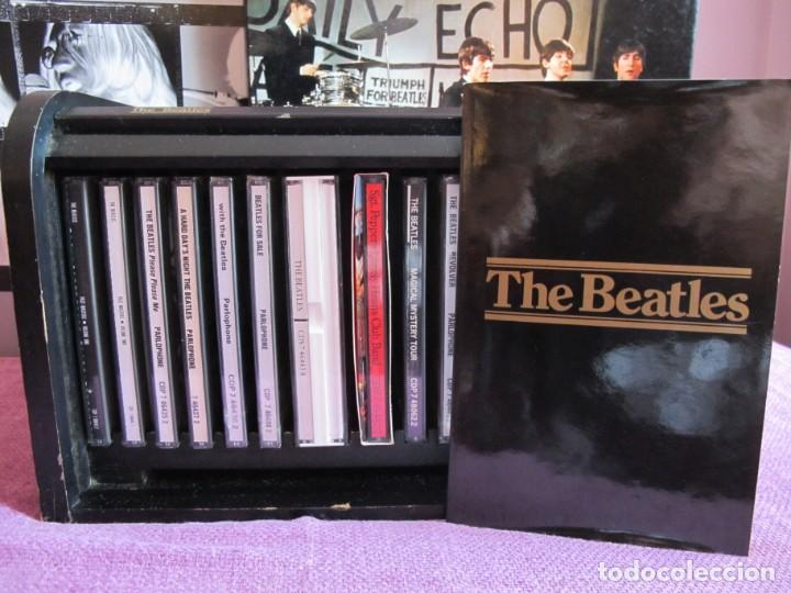 CDs de Música: THE BEATLES - BOX SET (CAJA DE MADERA CON 15 CDS Y LIBRETO CON 60 PAG.) - Foto 3 - 220403187