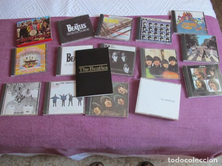 CDs de Música: THE BEATLES - BOX SET (CAJA DE MADERA CON 15 CDS Y LIBRETO CON 60 PAG.) - Foto 5 - 220403187