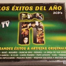 CD di Musica: Ñ / LOS ÉXITOS DEL AÑO 2001 / BOX - 3 CDS - DRO EAST WEST / DE BUENA CALIDAD.. Lote 220414153