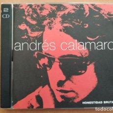 CDs de Música: ANDRES CALAMARO. HONESTIDAD BRUTAL. 2CD. 37 CANCIONES. DRO. AÑO 1990.. Lote 220414940