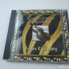 CDs de Musique: SOWETO STRING QUARTET-ZEBRA CROSSING - CD - N. Lote 220415675