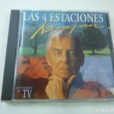 CDs de Musique: VIVALDI. LAS 4 ESTACIONES, KARAJAN EMI.- CD - C 2. Lote 220453888