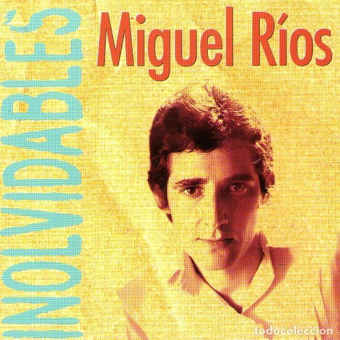 MIGUEL RÍOS - INOLVIDABLES - CD ALBUM - 10 TRACKS - HISPAVOX / CÍRCULO DE LECTORES - AÑO 1996 (Música - CD's Rock)
