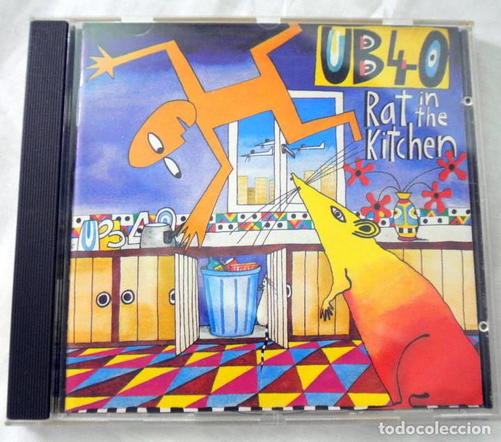 CD UB40 RAT IN THE KITCHEN, CD , DEP INTERNATIONAL, 1986 , 077 7 86446 2 0 (Música - CD's Reggae)