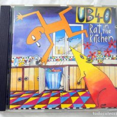 CDs de Música: CD UB40 RAT IN THE KITCHEN, CD , DEP INTERNATIONAL, 1986 , 077 7 86446 2 0. Lote 220577843