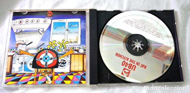 CDs de Música: CD UB40 RAT IN THE KITCHEN, CD , DEP INTERNATIONAL, 1986 , 077 7 86446 2 0 - Foto 2 - 220577843