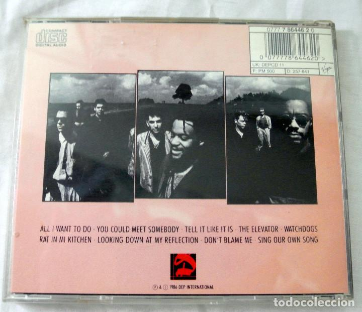 CDs de Música: CD UB40 RAT IN THE KITCHEN, CD , DEP INTERNATIONAL, 1986 , 077 7 86446 2 0 - Foto 4 - 220577843