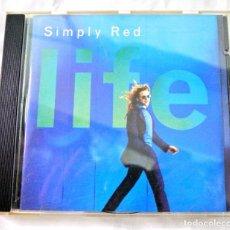 CDs de Música: CD SIMPLY RED, LIFE, CD, WARNER, 1995, 7 0630-12069-2 8. Lote 220583100