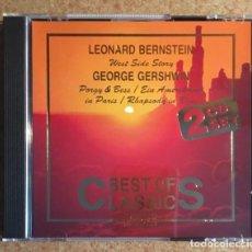 CDs de Música: BERNSTEIN, GERSHWIN, JANACEK - DOBLE CD. Lote 220613042