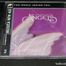 CDs de Música: CD - IN SEARCH OF ANGELS - VARIOS - PRECINTADO LO MEJOR DE LA MÚSICA NEW AGE 2 THE MUSIC INSIDE YOU. Lote 220622488