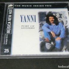 CDs de Música: CD - YANNI - PORT OF MYSTERY 25 PRECINTADO LO MEJOR DE LA MÚSICA NEW AGE - THE MUSIC INSIDE YOU. Lote 220623233
