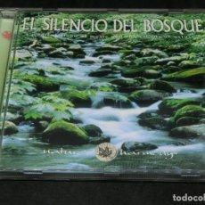CDs de Música: CD - EL SILENCIO DEL BOSQUE - NATURE'S HARMONY RICK RHODES A MAGICAL BLEND OF MUSIC AND THE SOUNDS. Lote 220624346