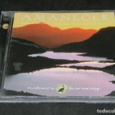 CDs de Música: AMANECER - MAC GREENE RICK RHODES NATURE'S HARMONY A MAGICAL BLEND OF MUSIC AND SOUNDS. Lote 220624563
