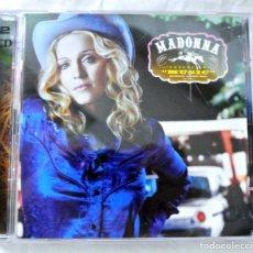 CDs de Música: CD MADONNA , MUSIC ,MAVERICK/WARNER BROS, 2CD EUROPA ESPECIAL LIM REMIXES , 2001, 9362-48135-2. Lote 220637917
