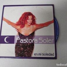 CDs de Música: PASTORA SOLER EN MI SOLEDAD CD SINGLE PROMOCIONAL CARTON 2001 CARLOS JEAN. Lote 220647537