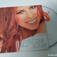 CDs de Música: PASTORA SOLER SOLO TU CD SINGLE PROMOCIONAL DE CARTON AÑO 2005 DANILO BALLO 1 TEMA. Lote 220647627