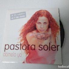 CDs de Música: PASTORA SOLER DAMELO YA CD SINGLE PROMOCIONAL CARTON 1999 CONTIENE 1 TEMA MANUEL RUIZ QUECO. Lote 220648297