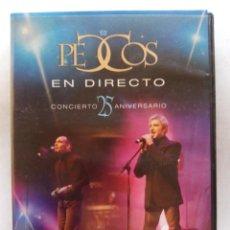 CDs de Música: PECOS. EN DIRECTO CONCIERTO 25 ANIVERSARIO. CD + DVD SONY MUSIC SM 5160623. ESPAÑA 2004.. Lote 220669531