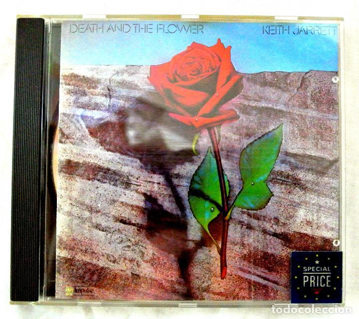 CD KEITH JARRET DEATH AND THE FLOWER, MCA RECORDS,1991, MADE IN GERMANY, CD INTERIOR MUY BUEN ESTADO (Música - CD's Jazz, Blues, Soul y Gospel)