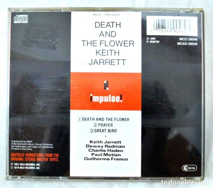 CDs de Música: CD KEITH JARRET DEATH AND THE FLOWER, MCA RECORDS,1991, MADE IN GERMANY, CD INTERIOR MUY BUEN ESTADO - Foto 4 - 220698653