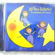 CDs de Música: CD LES TRES BESSONES, L' AVENTURA DE CANTAR, CROMOSOMA, 2006 8 430319 230065. Lote 220702157