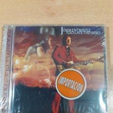 CDs de Música: RARO CD JOHN ENTWISTLE - TOO LATE THE HERO - REP 4634-WY - PRECINTADO - VER FOTOS. Lote 220713638