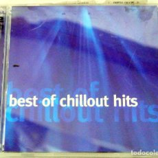 CDs de Música: CD BEST OF CHILLOUT HITS, RECOPILATORIO DE 2 CD'S, UBL MUSIC, 2004, 7 09231 09132 9, CD'S IMPECABLES. Lote 220751166