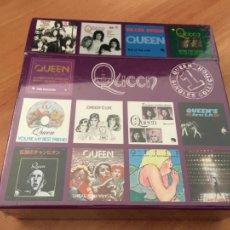CDs de Música: QUEEN SINGLES COLLECTION. BOX 13 CD PRECINTADO SEALED (COIB12). Lote 220753333