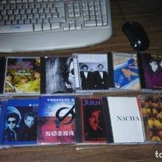 CDs de Música: LOTE DE 12 CDS DE MUSICOS ESPAÑOLES. SECRETOS, ULTIMO FILA, JUAN PERRO, NACHA POP.... Lote 220759750