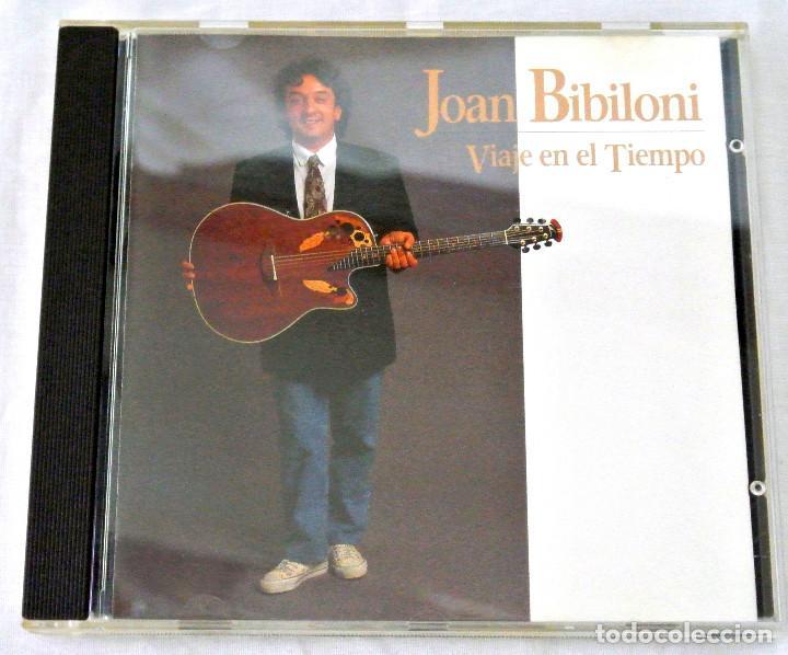 CD JOAN BIBLIONI VIAJE EN EL TIEMPO, BANDA SONORA ORIG. SERIE DE TVE,DISCMEDI, 1991, CD 019, ADM 019 (Música - CD's New age)
