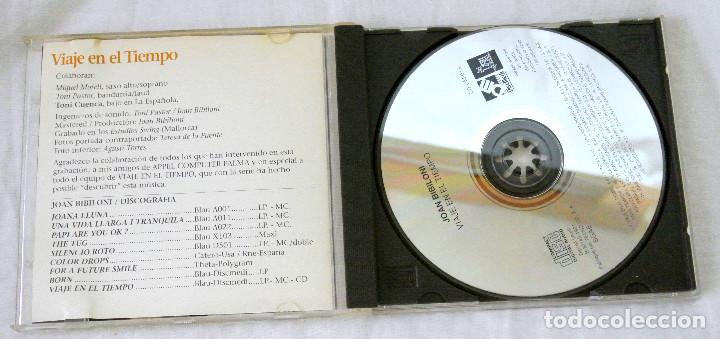 CDs de Música: CD JOAN BIBLIONI VIAJE EN EL TIEMPO, BANDA SONORA ORIG. SERIE DE TVE,DISCMEDI, 1991, CD 019, ADM 019 - Foto 2 - 220762436
