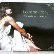 CDs de Música: CD LOUNGE STORY THE MODAL JAZZ CONECTION, LE MAQUIS 2003, RCIP-0075 CD INTERIOR IMPECABLE *. Lote 220767582