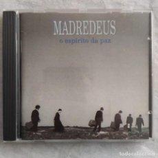 CDs de Música: MADREDEUS - O ESPÍRITO DA PAZ (CD, ALBUM) (EMI) 7243 8 300462 1 (NM). Lote 220776007