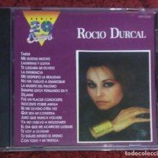 CDs de Música: ROCIO DURCAL (SERIE 20 EXITOS) CD 1991 USA. Lote 220782122