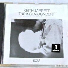 CDs de Música: CD KEITH JARRETT THE KÖL CONCERT, ECM RECORDS, 1975, PRINTED IN W. GERMANY, ECM 1064/65, 42281006722. Lote 220784588