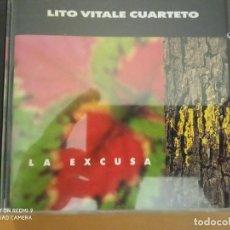 CDs de Música: LITO VITALE CUARTETO LA EXCUSA CD. Lote 220786996
