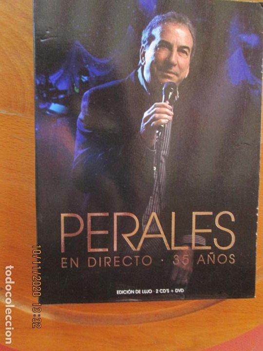 JOSE LUIS PERALES , EN DIRECTO - 35 AÑOS 2 CD,S +DVD +LIBRETO (Música - CD's Melódica )
