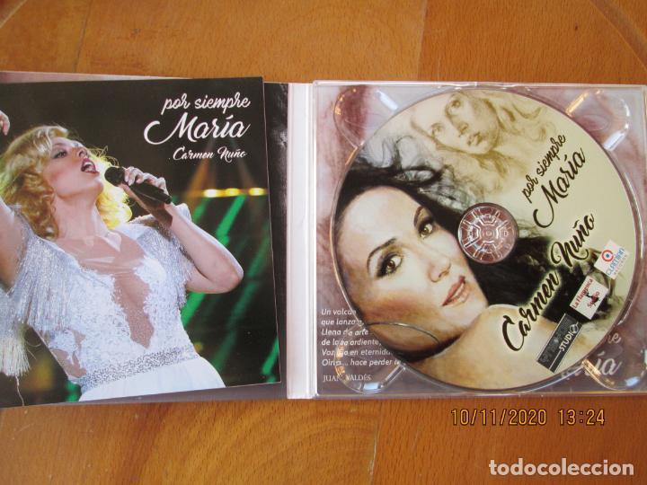 CDs de Música: CARMEN NUÑO, POR SIEMPRE MARÍA - CD - LA FLAMENCA STUDIO - CANTA CANCIONES DE MARÍA JIMENEZ. - Foto 3 - 220795948