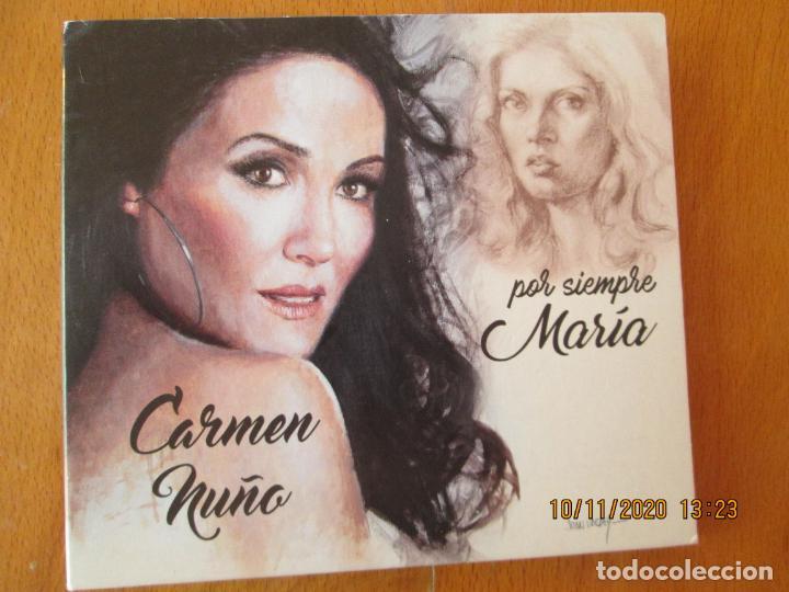 CARMEN NUÑO, POR SIEMPRE MARÍA - CD - LA FLAMENCA STUDIO - CANTA CANCIONES DE MARÍA JIMENEZ. (Música - CD's Flamenco, Canción española y Cuplé)