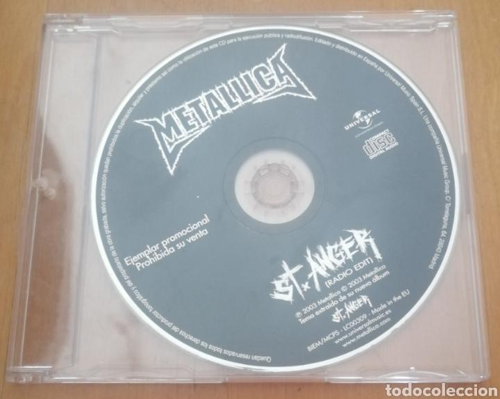 METALLICA - ST. ANGER. CD SINGLE PROMOCIONAL (Música - CD's Heavy Metal)