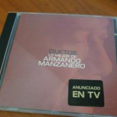CDs de Música: CD DUETOS ARMANDO MANZANERO. MALÚ, ARIEL ROT, MIGUEL BOSÉ, LOLITA, ALEJANDRO SANZ, CÓMPLICES.... Lote 220837200